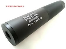 SILENT OPTION Airsoft Toy Barrel Dummy Extension 14mm CW & CCW for AEG GBB 190mm