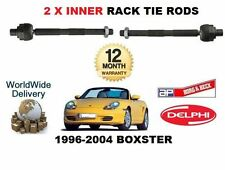 FOR PORSCHE BOXSTER 1996--  NEW 2x INNER STEERING TRACK RACK TIE ROD END SET