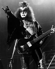 Hard Rock Band KISS Gene Simmons Glossy 8x10 Photo Rock and Roll Print Poster