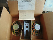 NOS 1985 1986 - 1990 CHEVY GM PONTIAC OLDSMOBILE BUICK A BODY REAR SPEAKERS