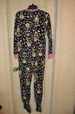 REALLY CUTE VINTAGE LOONEY TUNES TWEETY BIRD WARM BUTTON FRONT FOOT IN PAJAMAS