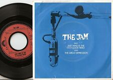 THE JAM JUST WHO IS THE 5 O`CLOCK HERO GERMAN / DUTCH 45+PS 1982 MOD REVIVAL WHO