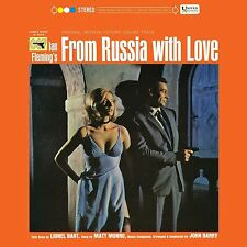 JOHN BARRY/OST -JAMES BOND:FROM RUSSIA WITH LOVE (LIMITED EDITION) VINYL LP NEU