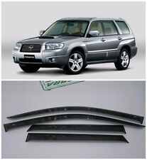 For Subaru Forester 2002-2008 Side Window Visors Sun Rain Guard Vent Deflectors