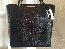 Brahmin Large Harrison Tote Cocoa Brown Melbourne Leather