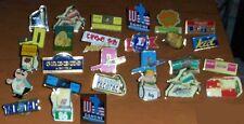Lot 27 pins Lu Dannone, loto, tacotac,Kronembourg, Leclerc...etc