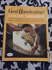 Good Housekeeping's Dreamy Desserts Cookbook Recipes 1971 Vintage