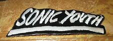 SONIC YOUTH COLLECTABLE RARE VINTAGE PATCH EMBROIDED 90'S METAL LIVE