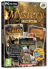 Hidden Mystery Triple Pack (PC CD)New/Sealed