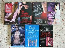 LOT OF 9 KATIE MACALISTER PARANORMAL BOOKS NO DOUBLES FREE SHIPPIN