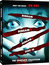 The Complete Scream Collection Blu-ray 1-4