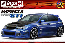 Aoshima échelle 1/24 subaru impreza grb ents plastic model kit * scooby * uk stock