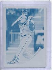 2011 Topps Heritage Wilin Rosario Cyan Printing Plate..Only one in World 1/1