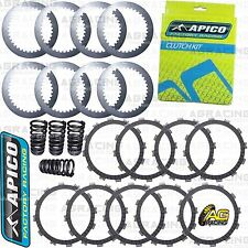 Apico Clutch Kit Steel Friction Plates & Springs For Husaberg FE 450 2009 Enduro