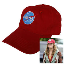 NASA logo embroidered red Hat Tomorrowland Casey Newton Halloween costume cap