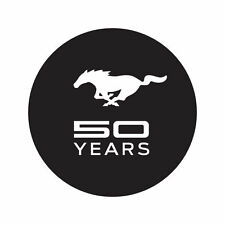 1964-2014 Ford Mustang - 50 Years Windshield Decal