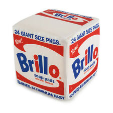 "White Brillo Box Medium 5"" Plush by Andy Warhol x KIDROBOT New"