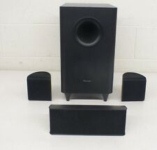Pioneer Home Theater Speakers S-22W-P Sub S-11-P Center & 2x S-11-P Satellites