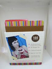 Love Elsie receta idea Caja diseños de Scrapbooking