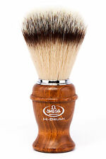 OMEGA BRUSH Synthetic Badger Fibre Hi Quality Genuine Shaving Brush (VEGAN)