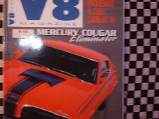 revue V8 n°40 / 2000 / CORVETTE RACING 66 / MERCURY COUGAR ELIMINATOR / CAD 76