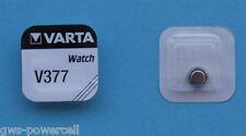 10 x Varta V 377 Knopfzelle Uhrenbatterie V377 SR626SW SR 66  Vsrta AG4 Blsiter