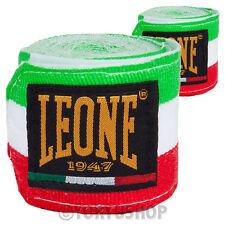 BENDAGGI LEONE ITALY 3.5 MT FASCE GUANTONI BENDE KICK THAI BOXE MUAY THAI