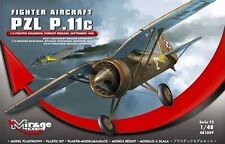 PZL P.11 C  ( POLISH AF MARKINGS, SEPTEMBER 1939) 1/48 MIRAGE