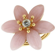 100% authentic Juicy Couture - BG - Enamel Flower Ring (Gold)