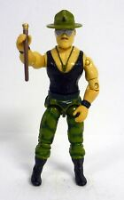 GI JOE SGT SLAUGHTER Vintage Action Figure Triple T Driver COMPLETE C9 v1 1986