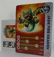 Skylanders Rare Variant Exclusive Jade Fire Kraken Card & Code ONLY ~ NO FIGURE