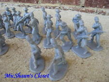 NEW CIVIL WAR CONFEDERATE INFANTRY ARMIES IN PLASTIC 54 MM 1/32 SCALE
