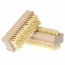 Manicare - Nail Brush, Wood Double Sided