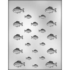 Fish Assorted Sizes Chocolate Candy Mold from CK #12849 - NEW