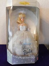 WEDDING DAY BARBIE 1960 REPRODUCTION DOLL NRFB BLONDE 1996