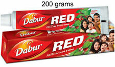 Dabur Red Herbal ToothPaste 200grams Ayurvedic Clove & Mint USA SELLER