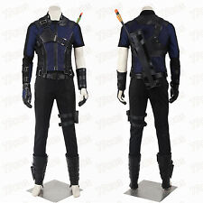 Captain America 3 Civil War Clint Barton Hawkeye Cosplay Costume Custom Made