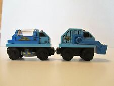 Thomas and Friends Wooden Sodor Road Crew Street Sweeper & Rubbish Truck