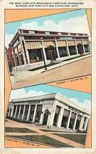 Albany New York Syracuse Multiview Furniture Show Room Antique Postcard K26986