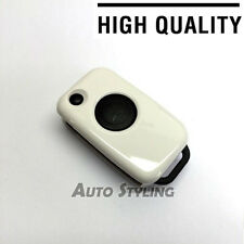 White Key Cover Case Mercedes Benz Remote Fob 1 Button Hull Cap Bag Shell 71w