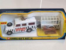 Corgi toys gift set 31 safari land rover et animal trailer VNMIB