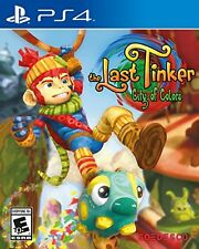 The Last Tinker City of Colors PlayStation 4 Game Console Video Games Playstatio