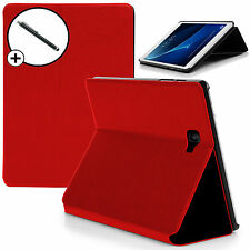 Red Clam Shell Smart Case Cover Samsung Galaxy Tab A 10.1 with S Pen Stylus