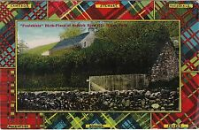 Tartan Border, Foulshiels, Birthplace Of Mungo Park, Nr SELKIRK, Selkirkshire