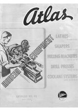 1945 Atlas  Modern Shop Equipment  Instructions