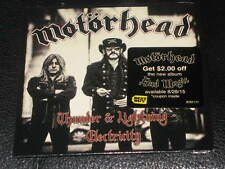 MOTORHEAD - Thunder & Lightning - 2 Track EXCLUSIVE BEST BUY CD Single! NEW! OOP