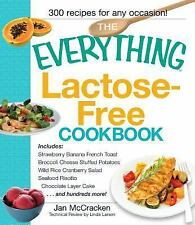 The Everything: Lactose-Free Cookbook by Jan McCracken (2008, Paperback)