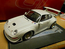 PORSCHE 911 993 GT2 EVO Racing plainbody white weiss 1998 Spirit NEU NEW 1:18