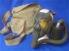 Original WWII US Army Gas Mask with Carrier