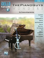 The Piano Guys Wonders Cello Play-Along Book Audio Online NEW 000141504